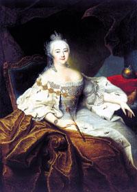 Императрица Елизавета Петровна. Холст, масло. 1744 год. Г. Х. Гроот