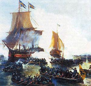 Небываемое бывает! День рождения Балтийского флота.