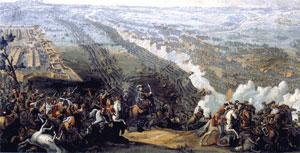 Денис Мартен. «Полтавская битва» (1726)