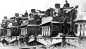 Переброска немецко-фашистских войск в район Курской дуги, 1943 г.