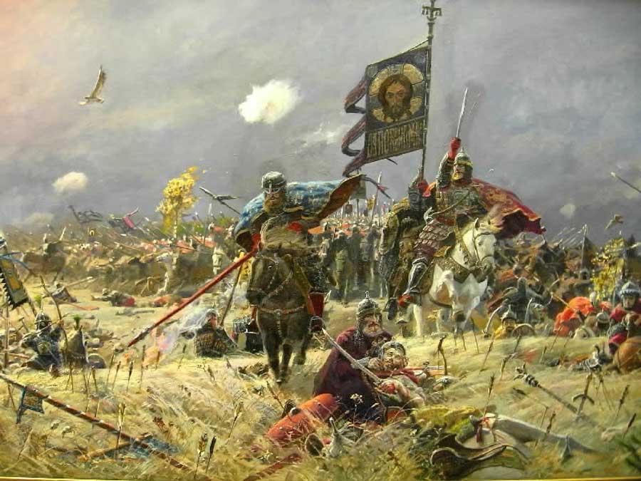 Павел Рыженко. Куликовская битва.
