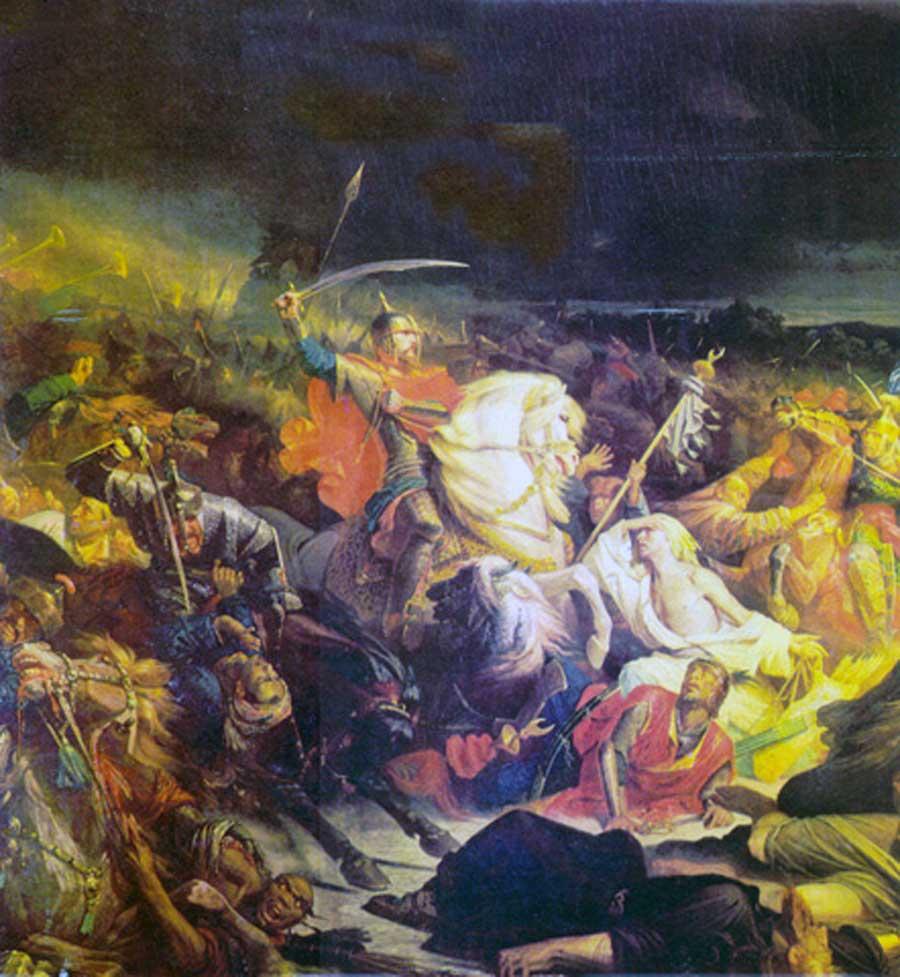 Адольф Ивон. Куликовская битва.