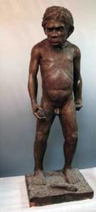 Скульптурная реконструкция мальчика из грота Тешик-Таш.