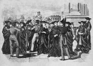 Изгнание иезуитов из Петербурга.