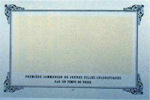 Alphonse Allais 1883 Carre blanc